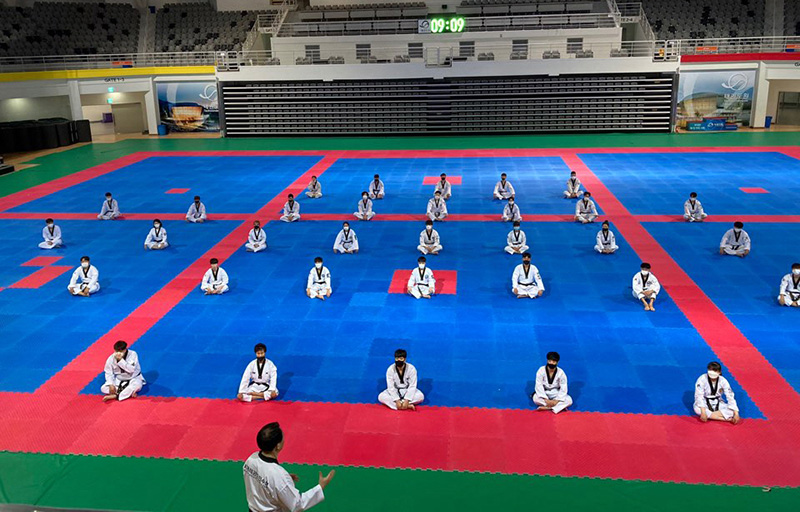 The 213rd of 3rd Class International Taekwondo Master Qualifying Course